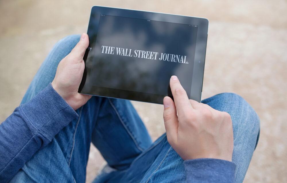 بیت کوین به صفحه اصلی روزنامه وال استریت ژورنال راه می یابد!