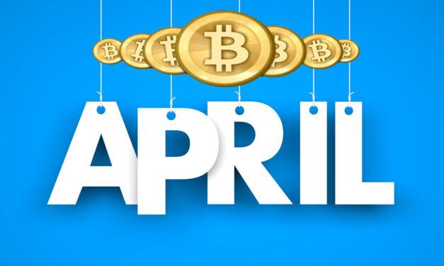 آوریل ماه جادویی برای بیت کوین!!