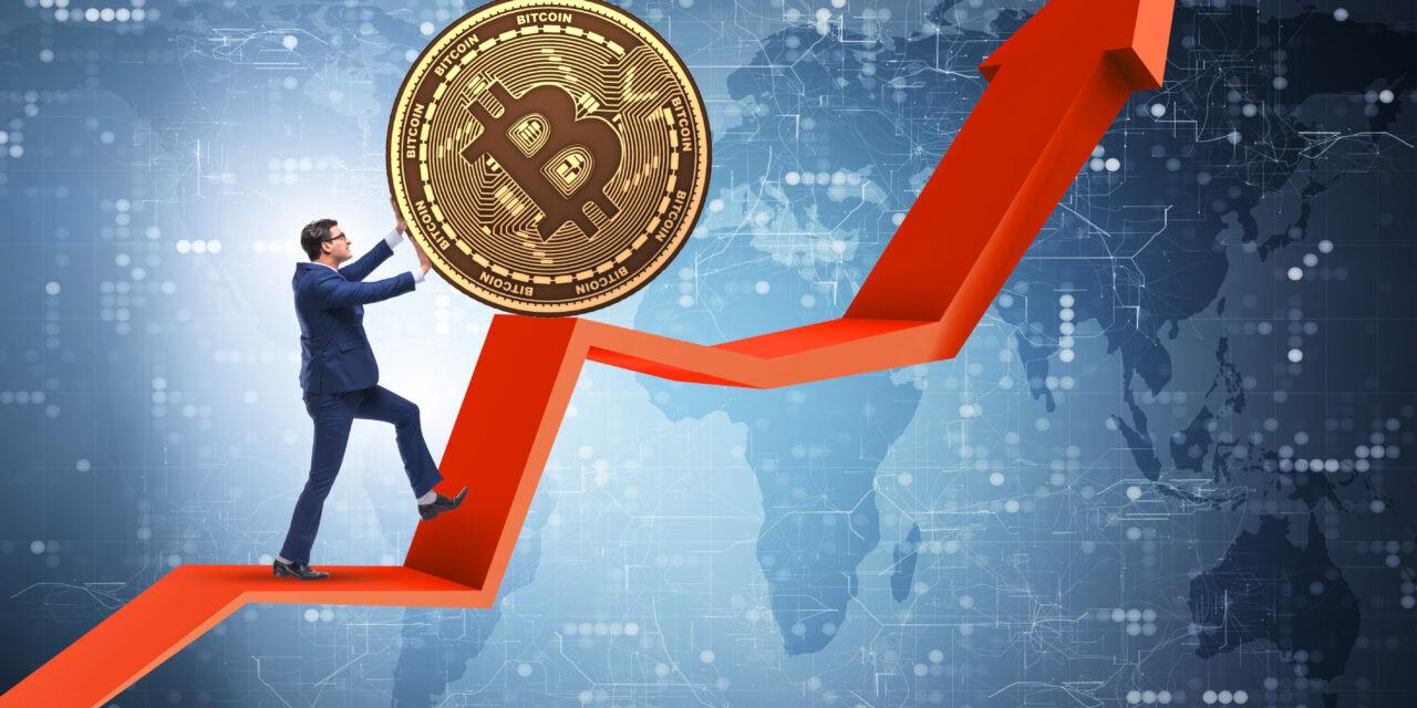 بیت کوین بیش از 500 درصد در یکسال گذشته افزایش یافت!!
